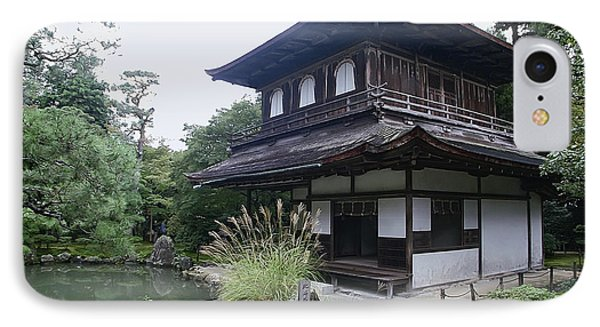 Silver Pavilion - Kyoto Japan Phone Case by Daniel Hagerman