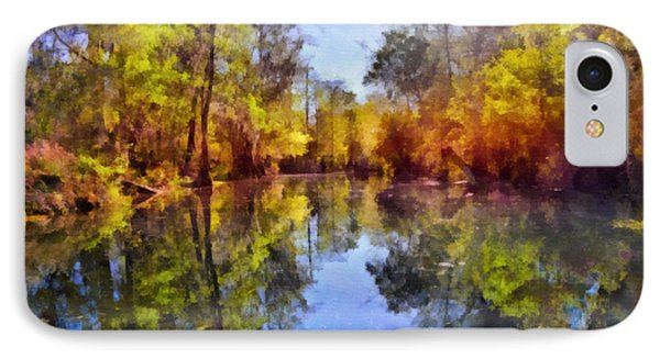 Silver River Colors IPhone Case