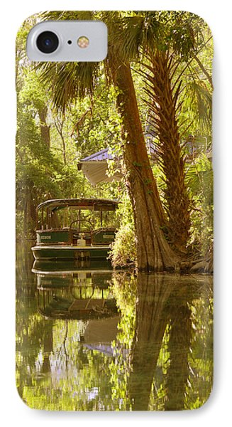 Silver Springs Glass Bottom Boats Phone Case by Christine Till