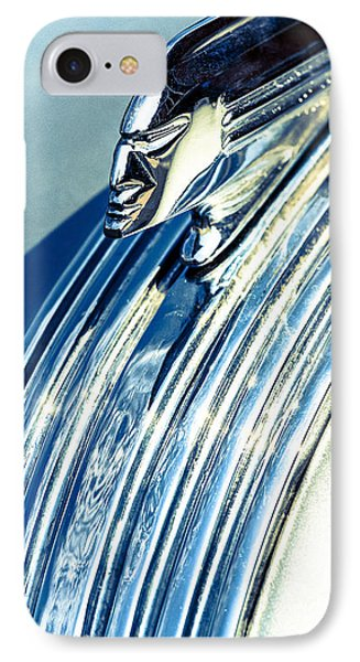 Profile In Chrome II Phone Case by Caitlyn  Grasso