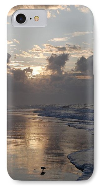 Silver Sunrise IPhone Case by Mim White