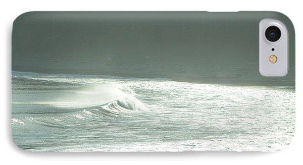 Silver Wave IPhone Case by Deprise Brescia