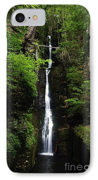 IPhone Case featuring the photograph Silverthread Falls by Debra Fedchin