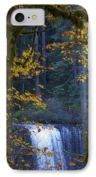Silverton Falls Oregon IPhone Case by Deprise Brescia