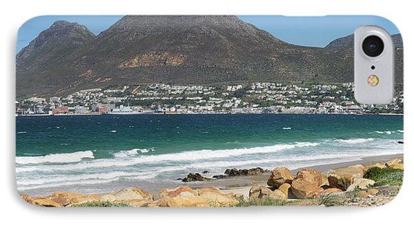 Simons Town Naval Base To Left Seen IPhone Case by Panoramic Images