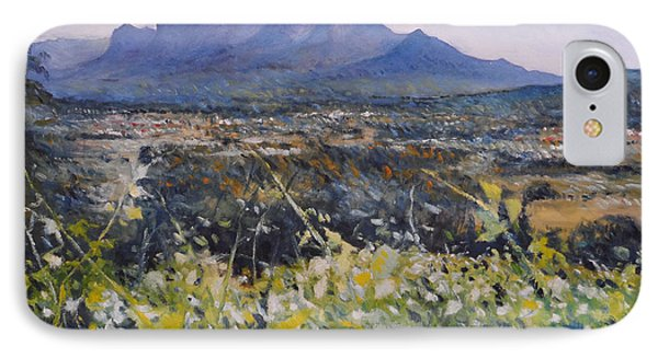 Simonsberg Cape Town South Africa Phone Case by Enver Larney