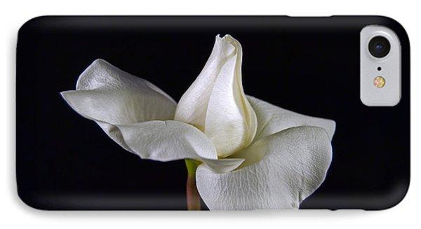 Simple In White IPhone Case by Elsa Marie Santoro