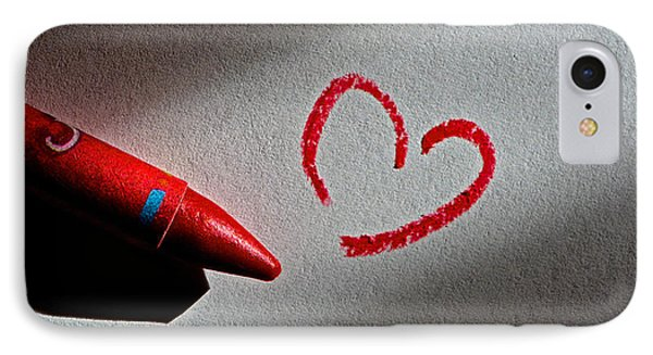 Simple Love Phone Case by Bill Owen