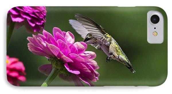 Simple Pleasure Hummingbird Delight IPhone 7 Case by Christina Rollo