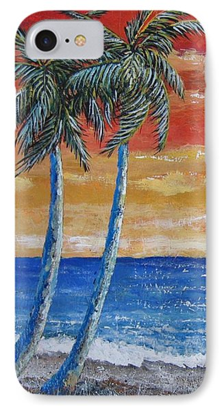 IPhone Case featuring the painting Simple Pleasure by Suzanne Theis
