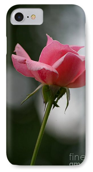 Simple Rose IPhone Case