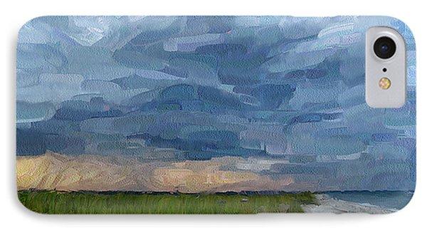 Simple Seaside Landscape Phone Case by Yury Malkov