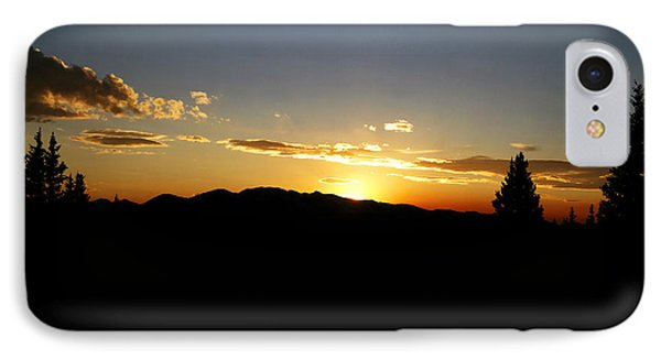 Simple Sunset Phone Case by Jeremy Rhoades