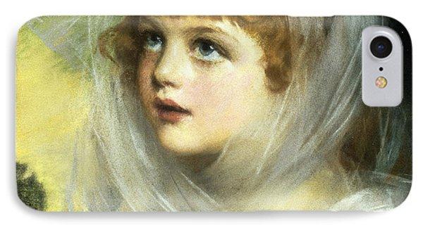 Simplicity And Innocence IPhone Case by John Ernest Breun