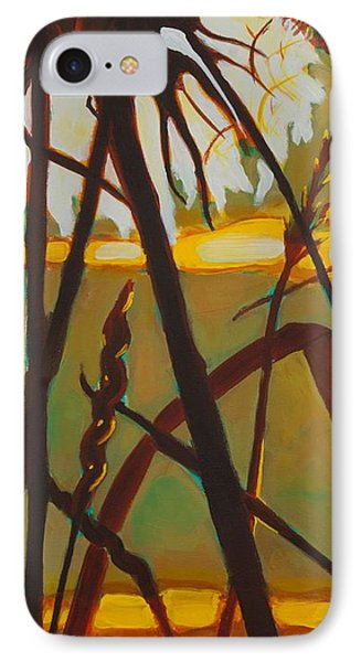 IPhone Case featuring the painting Simplicity Of Light by Janet McDonald