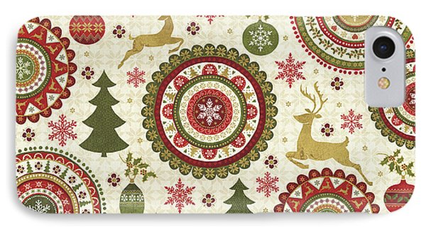 Simply Christmas IIi IPhone Case by Veronique Charron