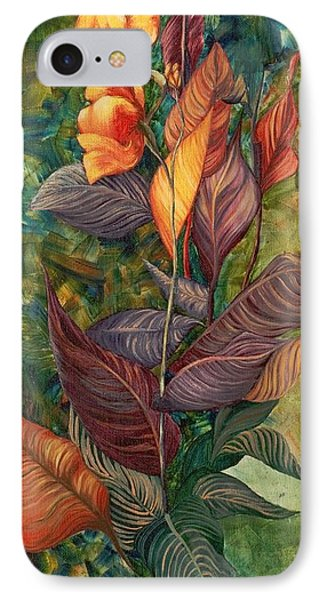 IPhone Case featuring the painting Simply Flowers by Yolanda Raker