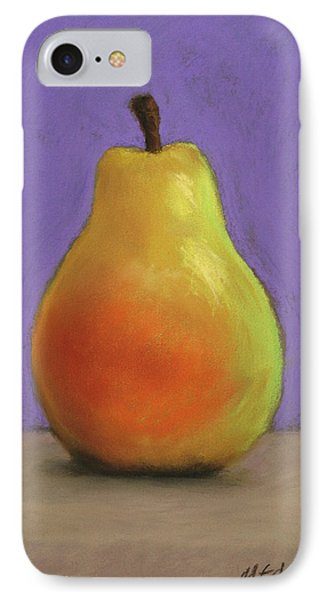 Simply Pear IPhone Case by Marna Edwards Flavell