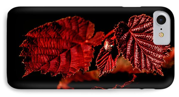 Simply Red IPhone Case by Michelle Meenawong