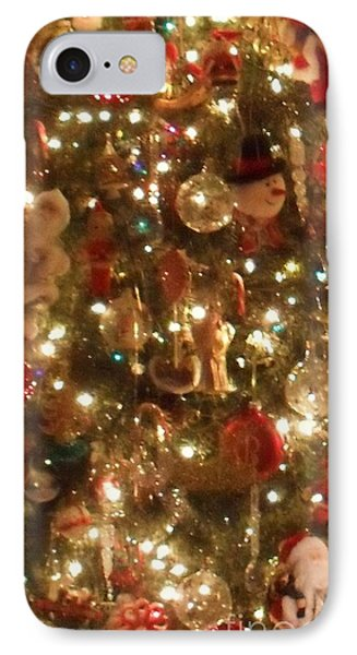 IPhone Case featuring the photograph Simply Santa by Laurie L