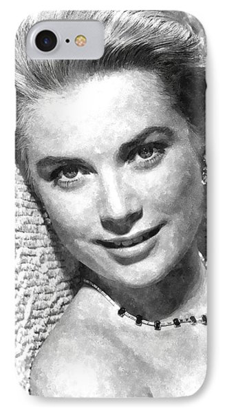Simply Stunning Grace Kelly IPhone Case by Florian Rodarte