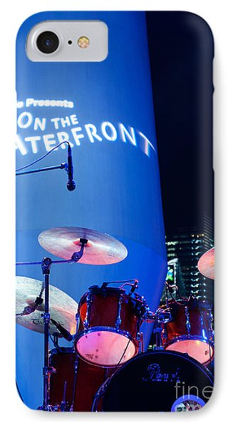 Singapore Drum Set 03 IPhone Case by Rick Piper Photography