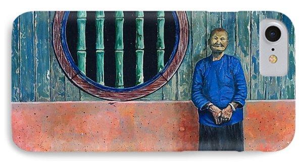 Singapore Lady IPhone Case by William Goldsmith
