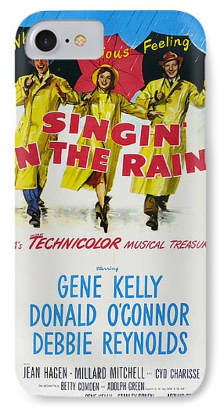 Singin In The Rain Phone Case by Georgia Fowler