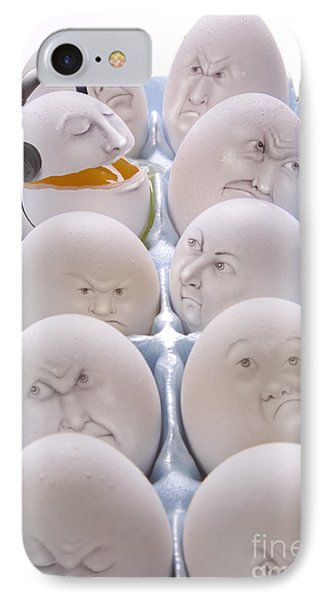 Singing Egg Phone Case by Diane Diederich