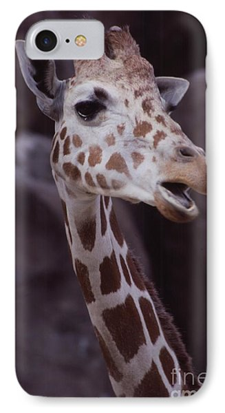 Singing Giraffe Phone Case by Anna Lisa Yoder