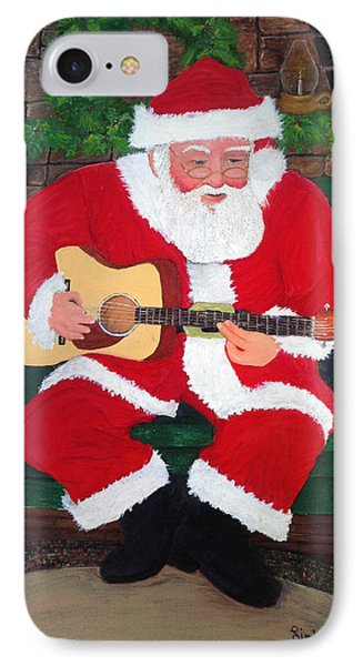 Singing Santa IPhone Case