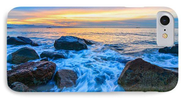 Singing Sunrise Singing Beach IPhone Case