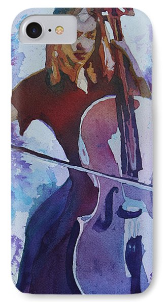 Singing The Cello Phone Case by Jenny Armitage