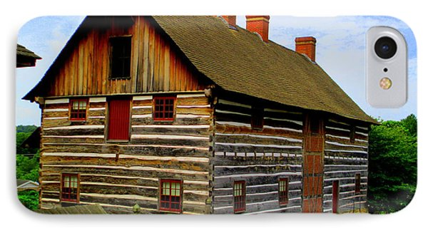 Single Brothers Workshop Old Salem IPhone Case by Randall Weidner
