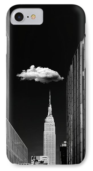 Single Cloud IPhone Case