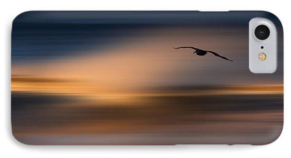 IPhone Case featuring the photograph Single Pelican  73a1102 by David Orias