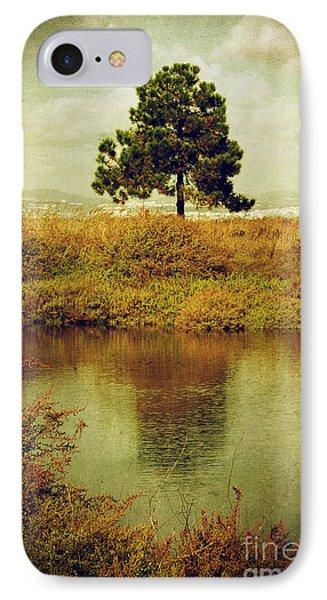 Single Pine Tree IPhone Case