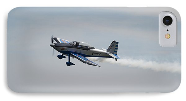 IPhone Case featuring the photograph Single Rv8tor Sunderland Air Show 2014 by Scott Lyons