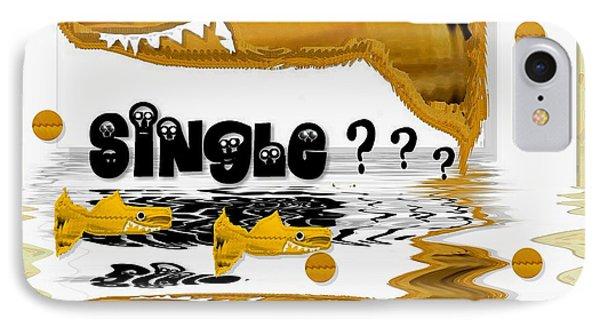 Single Shark Pop Art Phone Case by Pepita Selles