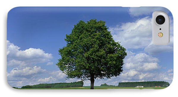 Single Tree, Germany IPhone Case