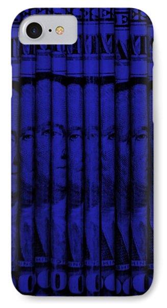 Singles In Blue IPhone Case