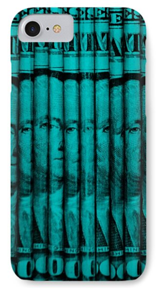 Singles In Turquois IPhone Case