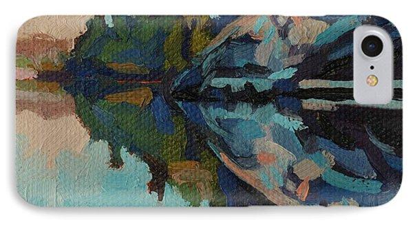 Singleton Cliffs IPhone Case by Phil Chadwick