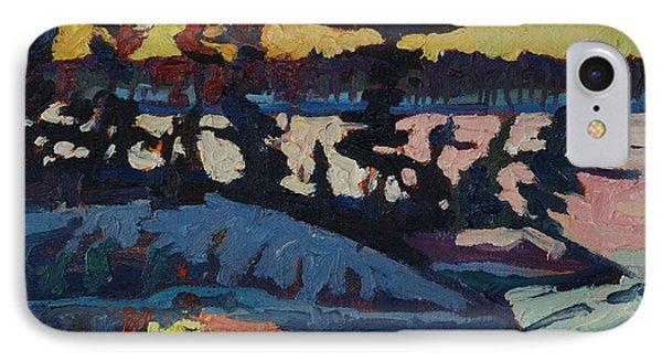 Singleton Sunset IPhone Case by Phil Chadwick