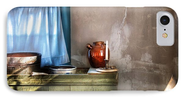 Sink - The Jug And The Window Phone Case by Mike Savad