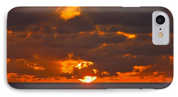 Sinking In The Sea IPhone Case by Greg Norrell