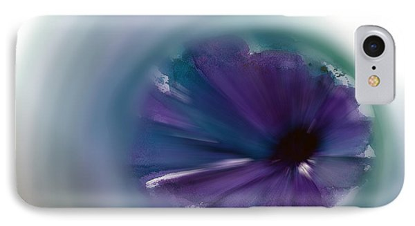 IPhone Case featuring the mixed media Sinking Into Beauty by Frank Bright