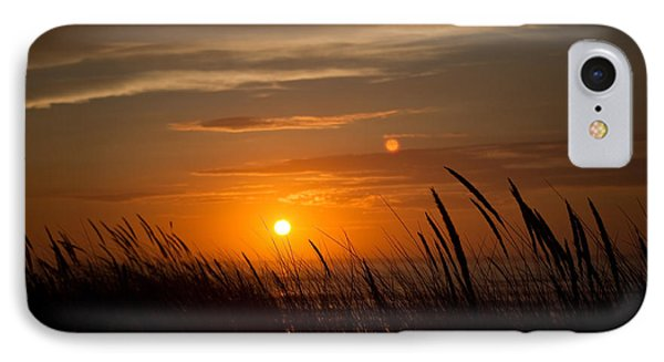 Sinking Sun IPhone Case by Adria Trail