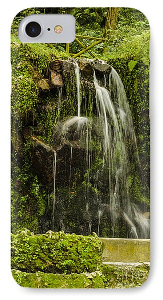 Sintra Waterfall Phone Case by Deborah Smolinske