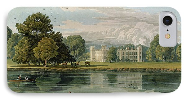 Sion House, Engraved By Robert Havell Phone Case by William Havell